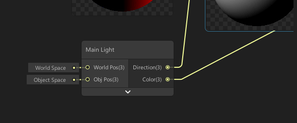 light direction ShaderGraph node